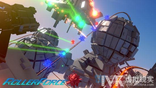 穿梭在枪林弹雨中 Rollerforce让VR射击游戏更刺激