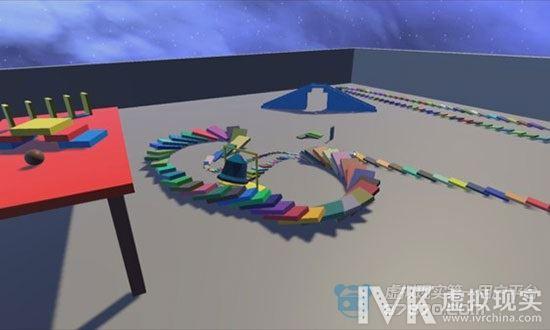 这游戏没点耐心真玩不了 《多米诺VR》上架Steam