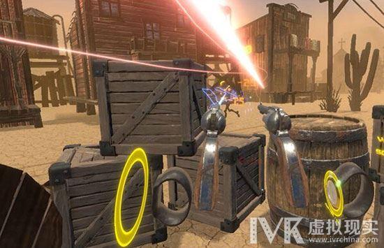 一款让你变身狂野西部牛仔来场激烈战斗的VR游戏上线