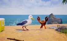 躺在沙滩上享受阳光《加里的海鸥》登录Steam