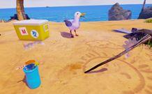 能够与玩家互动 《Gary the Gull》聪明的海鸥