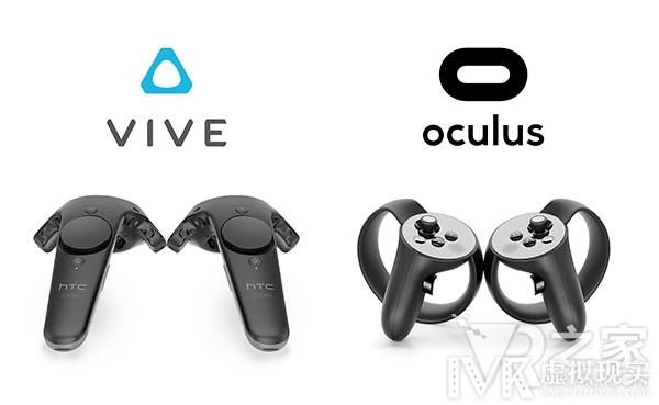 看谁更好用 HTC Vive与Oculus Touch对比