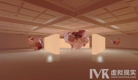 跟着艺术家们在虚拟现实画廊中体验反重力艺术的魅力