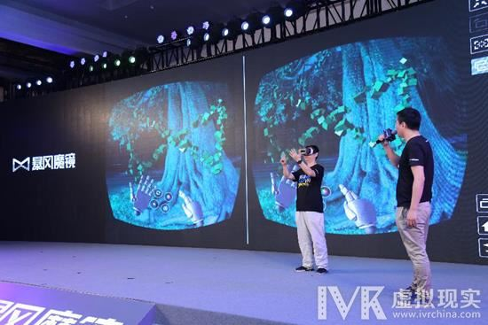 暴风发布第五代产品 携手leap motion增强VR体验