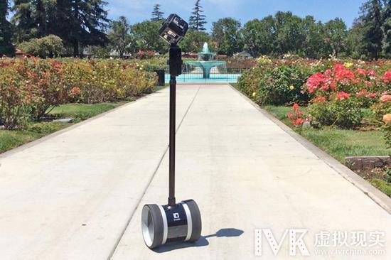 移动中拍摄VR视频麻烦多? 多莉机器人来帮你