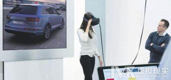 先开再买 奥迪利用HTC Vive让消费者在VR中试驾