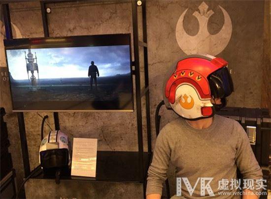 《星球大战外传》VR体验比正片更带劲  秒变战斗机飞行员