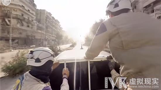 三星与VICE利用Gear 360拍摄叙利亚战场全景视频