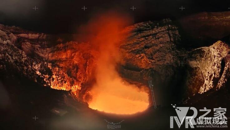 身临其境感受火山爆发 你能感觉到它的热度么?