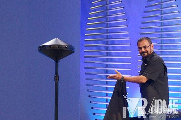 Facebook公开对应VR的照相机Surround360